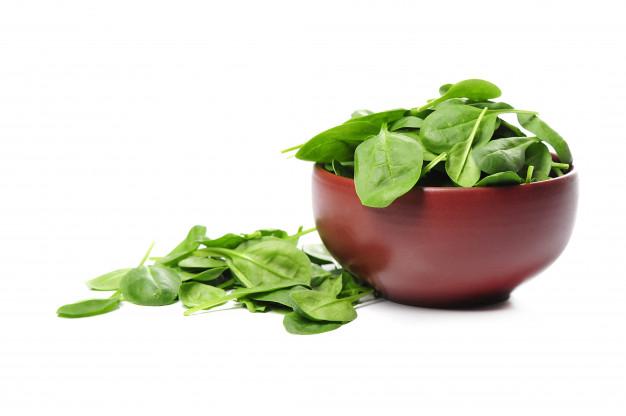 verse spinazie koken